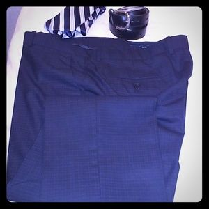 Perry Ellis Slim Fit Dress Slacks